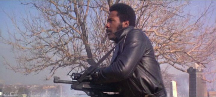 Shaft in graveyard gunfight