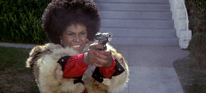 Cleopatra Jones takes aim