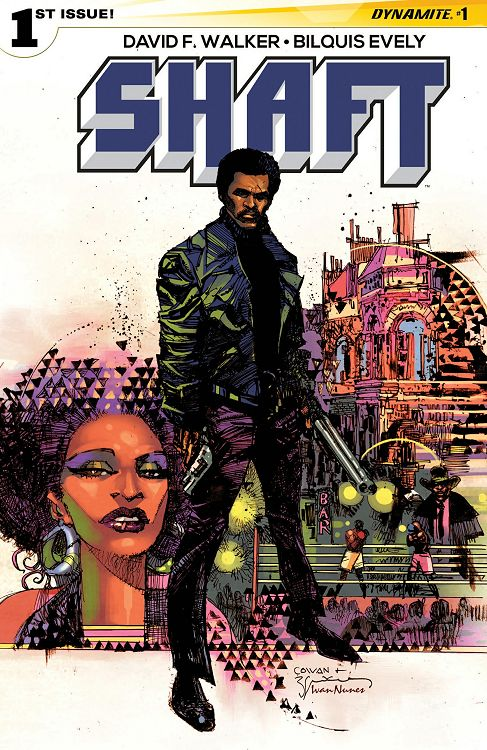 Cover of Shaft comicbook